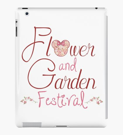 Epcot Flower and Garden Festival iPad Case/Skin