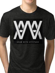 AWA - Arab With Attitude Tri-blend T-Shirt
