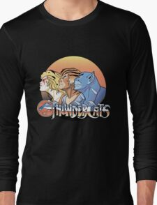 thundercats design t-shirt Long Sleeve T-Shirt