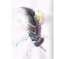 Freedom Feather Photographic Print