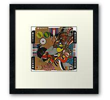 FORCE ANIMAL Framed Print
