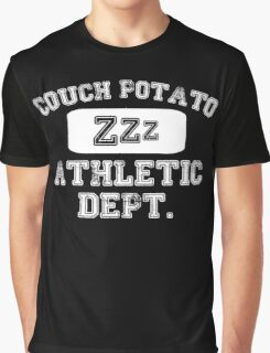 Couch Potato Athletic Dept Graphic T-Shirt