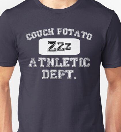 Couch Potato Athletic Dept Unisex T-Shirt