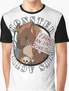 Monster Rights Activist Gnoll Graphic T-Shirt
