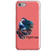 Betta Fighting Fish iPhone Case/Skin
