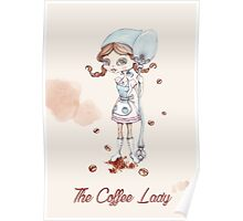 The coffee lady Poster