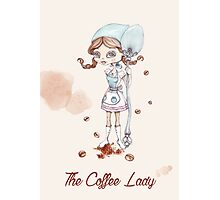 The coffee lady Photographic Print