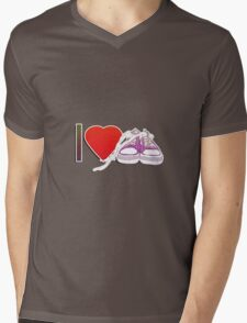 I love sneakers/trainers Mens V-Neck T-Shirt