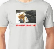 Northern Birds love Chips n Gravy Unisex T-Shirt