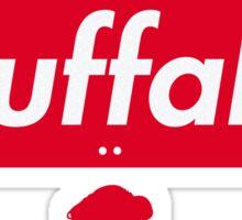 Buffalo NY / Bills Retro Logo Apparel  Sticker