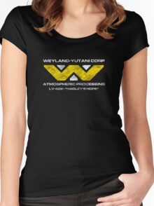 LV-426 Staff T-Shirt Women's Fitted Scoop T-Shirt