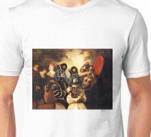 Cavalier King Charles Spaniel Art - Arlequin and Colombine Unisex T-Shirt