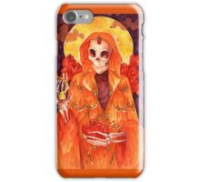 Holy Lady of the Butterflies iPhone Case/Skin
