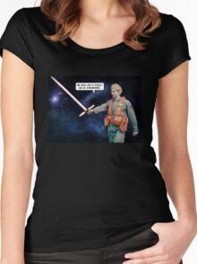 Matt the Radar Technician Women's Fitted Scoop T-Shirt
