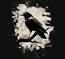 Crow bleached (creme white) Unisex T-Shirt