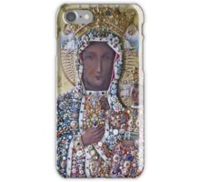 Our Lady of Czestochowa Bejeweled Picture - Restored iPhone Case/Skin