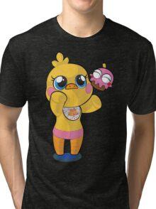 plush toy chica Tri-blend T-Shirt