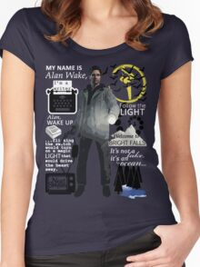 Alan Wake Women's Fitted Scoop T-Shirt