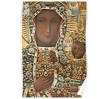 Our Lady of Czestochowa Bejeweled Picture - Closeup Poster