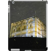 Snowy Night At Norwich Castle Museum, England iPad Case/Skin