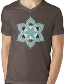 Black Hearts Mens V-Neck T-Shirt