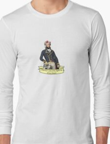 America's Favorite Fighting Frenchman Long Sleeve T-Shirt