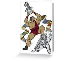 Davros Chair Match Greeting Card