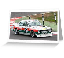 Ford Escort 2000 Greeting Card