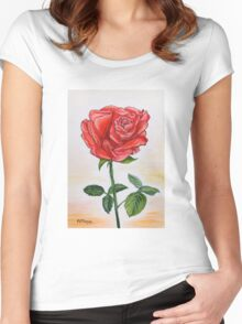 A touch of romance Women's Fitted Scoop T-Shirt