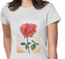 A touch of romance Womens Fitted T-Shirt