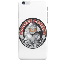 PROTECT & DEFEND iPhone Case/Skin