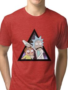 Rick and morty. Tri-blend T-Shirt