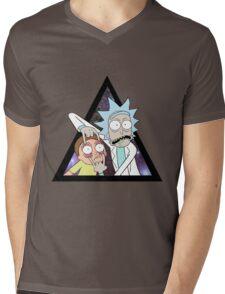 Rick and morty. Mens V-Neck T-Shirt