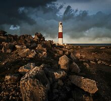Red And White Lighthouse Of Lizard by JBlaminsky