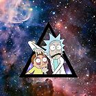rick and morty in space. by CODUS
