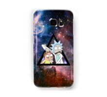 rick and morty in space. Samsung Galaxy Case/Skin