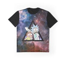 rick and morty in space. Graphic T-Shirt