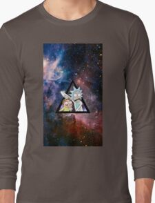 rick and morty in space. Long Sleeve T-Shirt
