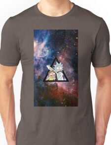 rick and morty in space. Unisex T-Shirt