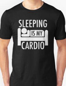 Sleeping Is My Cardio Unisex T-Shirt