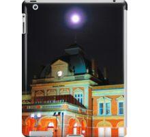 Full Moon Above Norwich Train Station, England. iPad Case/Skin