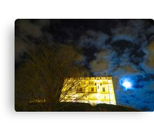 Norwich Castle Museum at Night, England Canvas Print