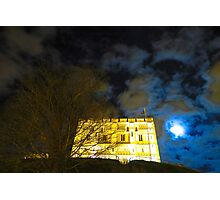Norwich Castle Museum at Night, England Photographic Print
