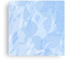 Blue Marble Texture Canvas Print
