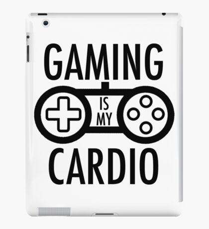 Gaming Is My Cardio iPad Case/Skin