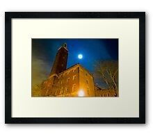 Norwich City Hall at Night, England Framed Print