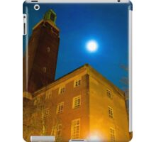 Norwich City Hall at Night, England iPad Case/Skin