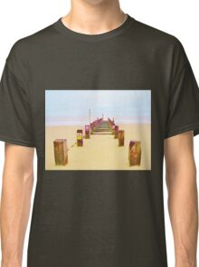 Out to Sea- Yellow Classic T-Shirt