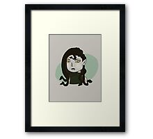 A Woman Scorned Framed Print