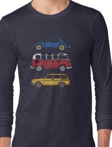 Vintage Volkswagen Family Long Sleeve T-Shirt